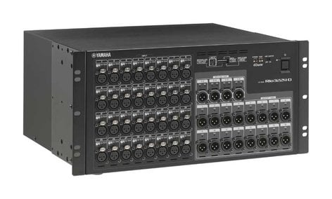 Yamaha RIO3224-D 32 In x16 Out Digital Stage Box RIO3224-D