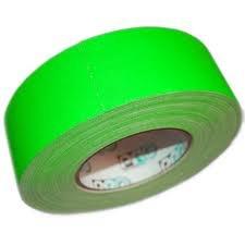 "Rose Brand GAFFERS-2""-CHROMAGRN 2"" W Chroma Green Gaffer's Tape 55 Yard Roll GAFFERS-2""-CHROMAGRN"