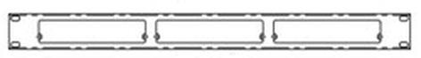 Doug Fleenor Designs RKT1-3 Rack Kit RKT1-3