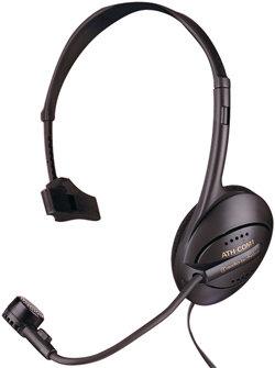 Audio-Technica ATH-COM1 Monophone/Dynamic Boom Microphone Combination Headset ATH-COM1