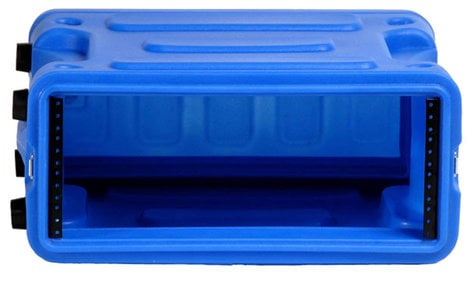 "Gator Cases G-PRO-4U-19-BL  4U, 19"" Deep Molded Audio Rack, Blue G-PRO-4U-19-BL"