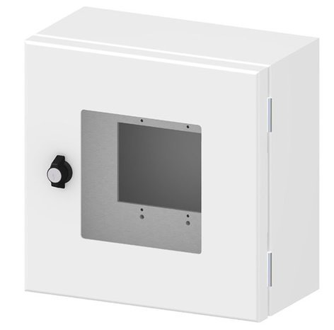 FSR, Inc OWB-CP1-W-WHT Outdoor Wall Box and Cover with Window OWB-CP1-W-WHT