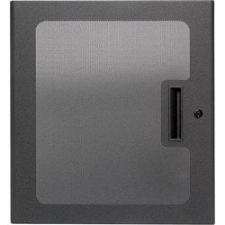 """Atlas Sound MPFD21  Front Door, 21RU, 1""""Deep, Micro-Perforated MPFD21"""