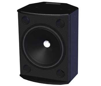 """Tannoy VXP12-BLACK 12"""" Powered Speaker VXP12-BLACK"""