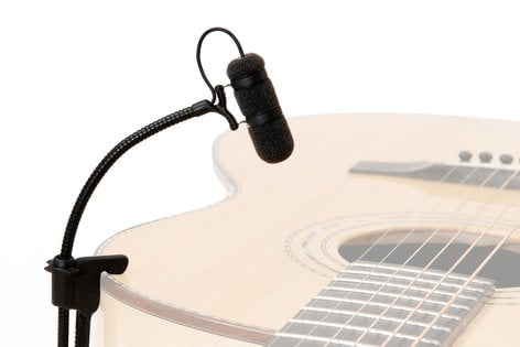 DPA Microphones VO4099G d:vote Supercardioid Microphone for Acoustic Guitar and Strings VO-4099-G