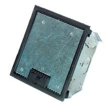 Pro Co FP4-8 Medium Floor Pocket with Gray Trim Ring, Accepts 2 FP4 Series Plates FP4-8