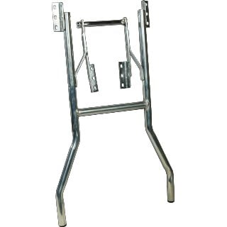 Grundorf Corp 43-001 Chrome Wishbone-Style Table Leg 43-001-GRUNDORF