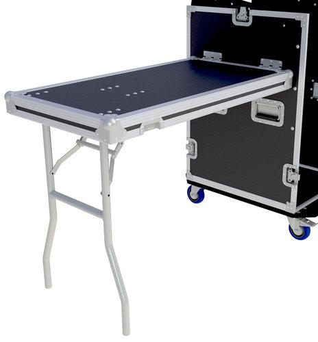 Grundorf Corp TLS Install Option for 43-001 Chrome Wishbone Table Leg in 18RU & Up Rear Rack Cover TLS-GRUNDORF