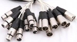 Pro Co MT16XFXM-150 150 ft. 16-Channel XLR-M to XLR-F Studio Patch Snake MT16XFXM-150