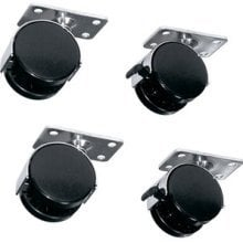 Middle Atlantic Products DTRK-W  Set of 4 Casters for DTRK Rack  DTRK-W