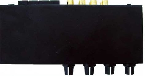 Rolls MA252 20W 2-Channel Stereo Class D Mixer Amplifier with 2x RCA, 1x XLR Inputs MA252