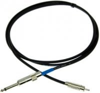 "Pro Co PQR-1 1 ft. Excellines 1/4"" TS to RCA Patch Cable PQR1"