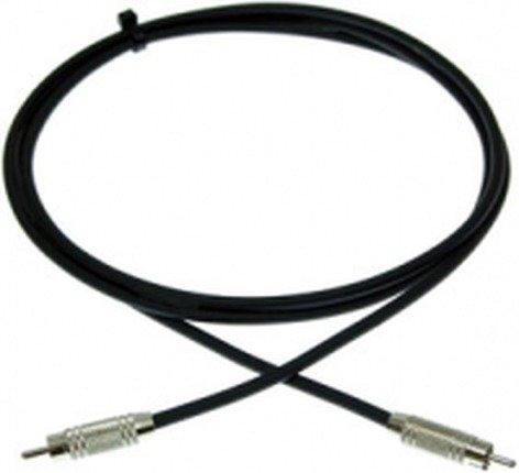 Pro Co PRR-5 5 ft. Excellines Unbalanced RCA to RCA Patch Cable PRR5