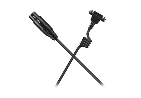 Sennheiser Cable-X4F 6.6 ft Headset Cable with 4-Pin Female XLR Connector CABLE-X4F