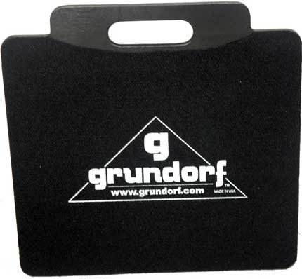 """Grundorf Corp 73-010  20.75"""" x 20.75"""" Dolly Plate Cart with 4"""" Casters, Two Brakes 73-010"""