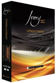 Synthogy Ivory II Upright Pianos Upright Piano Virtual Instrument (RTAS, VST, AU) IVORY2-UPRIGHT-PIANO