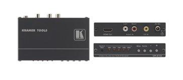 Kramer VP-410 Composite Video & Stereo Audio to HDMI Scaler VP410