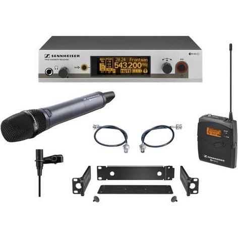 Sennheiser EW312/335-G3 Wireless Combo Microphone System with e835 Handheld & Bodypack Transmitters EW312/335-G3