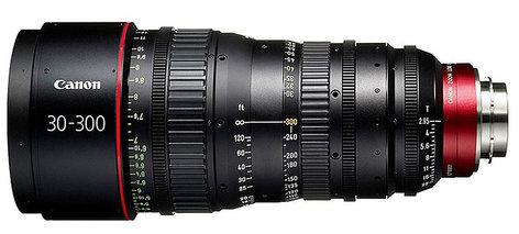 Canon 6142B001 CN-E 30-300mm T2.95-3.7 L SP PL Mount Cinema Zoom Lens 6142B001