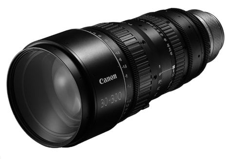 Canon 6142B002 CN-E 30-300mm T2.95-3.7 L S EF Mount Cinema Zoom Lens 6142B002
