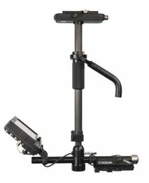 Steadicam SCBXHDBVFA  Scout HD Stabilizer System with HD Monitor, Sled, VL Mount, Arm & Vest SCBXHDBVFA