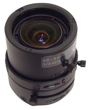 Speco Technologies VF3.58DC  Lens, 3.5-8mm, DC, Auto Iris VF3.58DC