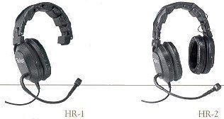 Telex HR2PT-300534-003 DblSided w/Boom Headset/NoConn HR2PT-300534-003
