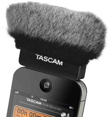 WindTech MM-53  Mic Muff for Tascam iM2 Mic MM-53