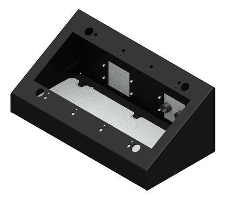 FSR, Inc DSKB 4G 4 Gang Desktop Mounting Box DSKB-4G