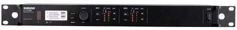 Shure ULXD4D Dual Digital Wireless Receiver, G50 Band ULXD4D-G50