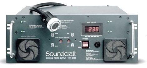 Soundcraft CPS2000 Power Supply with RW8021 Cable CPS2000