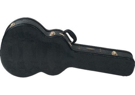Lag Guitars J7-12 Hardshell 12-String Jumbo Acoustic Guitar Croco Case HLGJ712
