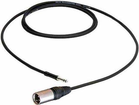 Pro Co TTXM-25 25 ft. Excellines TT to XLR-M Patch Cable TTXM25