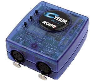 Robe Lighting, Inc Cyber Pro II Cyber Cue Software for PC CYBER-PRO-II