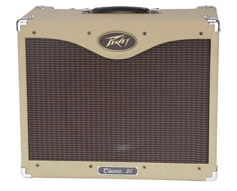 "Peavey CLASSIC-30-112-II Classic 30/112 II 30W, 1x12"" Tube Combo Amplifier with Footswitchable Boost and Standby Switch CLASSIC-30-112-II"