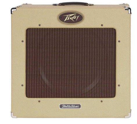 """Peavey Delta Blues 115 II 1x15"""" 30W Tube Combo Guitar Amplifier DELTA-BLUES-115-II"""