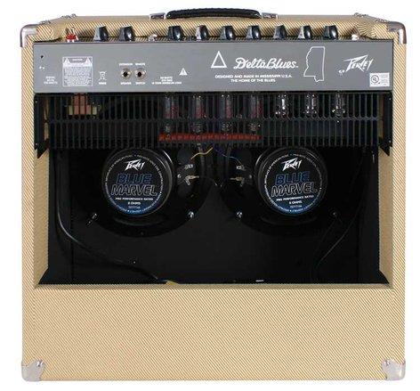 """Peavey Delta Blues 210 II 30W, 2x10"""" Tube Combo Amplifier DELTA-BLUES-210-II"""