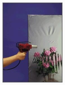 "Rosco 03909-5430 54"" W x 30 ft. Roll of Silver Shrink Mirror 03909-5430"