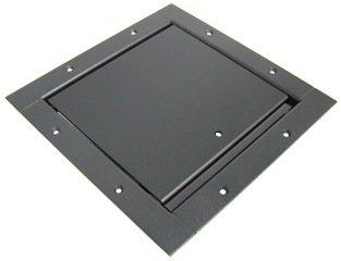 Ace Backstage Co. BZ132SL-BK Stage Pocket, Standard Lid Assembly, Trim Bezel, Textured Black Finish BZ132SL-BK