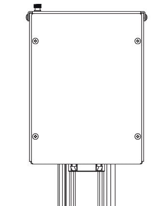 "Middle Atlantic Products MPR-JB663A  6""x6""x3"" MPR Junction Box MPR-JB663A"