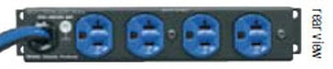 Middle Atlantic Products PD-415R-SP  15 Amp Half Rack Surge Protector PD-415R-SP