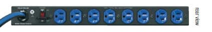 Middle Atlantic Products PD-915R-SP 15 Amp 1RU Surge Protector PD-915R-SP