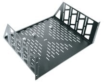Middle Atlantic Products U1V  1-Space Vented Universal Rack Shelf U1V