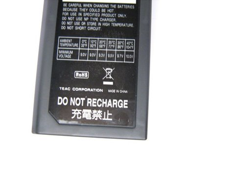 Teac M03043300A Tascam Recorder Battery Case M03043300A