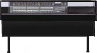 Argosy Consoles 70-NC24-R-B-B  Desk, for Digidesign C/24, Black Trim Panel 70-NC24-R-B-B