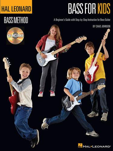 Hal Leonard 00696449  Bass For Kids, Book/CD  00696449
