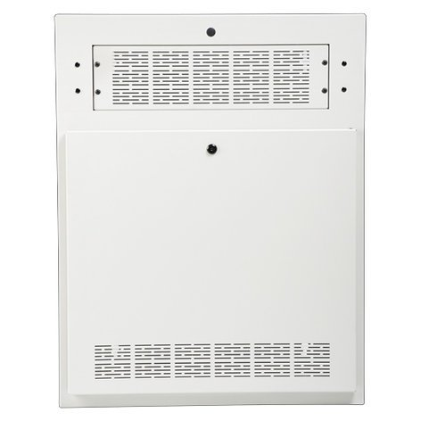 Atlas Sound AWR2W Amplifier Wall Cabinet in White AWR2W
