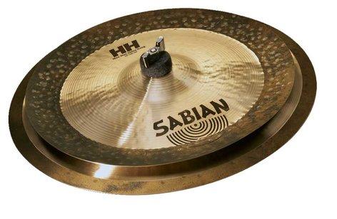 """Sabian HH Low Max Stax Cymbal Set 12"""" Max Stax China Kang and 14"""" Max Stax Crash in Natural Finish 15005MPL"""