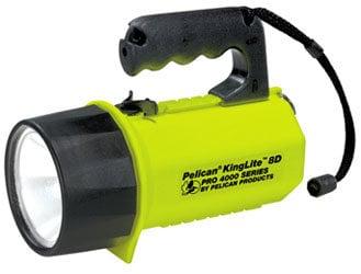 Pelican Cases 4000 KingLite High Power Dual Filament Xenon Flashlight (Boxed) 4000B