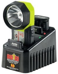 Pelican Cases 3750AC110F Big Ed High-Intensity Xenon Flashlight with 110V Fast Charger 3750-AC110F